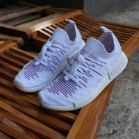 Adidas NMD R1 STLT Primeknit - White Purple