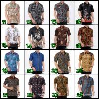 Kemeja Batik 01 - Baju Batik Pria - Hem Batik Lengan Pendek