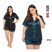 Piyama Satin Hotpan Jumbo Wanita 2XL / Hotpan Big Size - NOSH