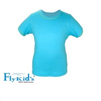 Fly Kids T-Shirt /Kaos Anak Laki/Atasan Laki FKB 3093 (1Pack isi 1pcs)