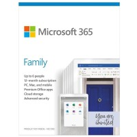 Office 365 Family Subscribtion FPP -- untuk 6 device