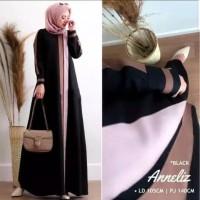 Anneliz dress baju gamis pakaian wanita fashion muslim