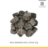 BATU BAKARAN GRILL STONE 6kg
