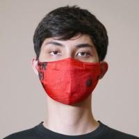 Masker Print Persija Merah