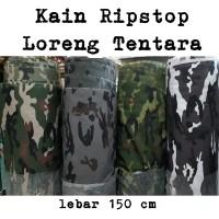 Kain Ripstop Doreng Loreng seragam bahan meteran00