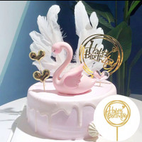 Happy Birthday Acrylic Cake Topper / Dekorasi Kue Ulang Tahun