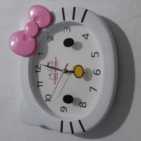 Jam Dinding Hello Kitty Besar Ardifafa1