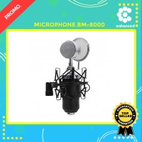 MICROPHONE CONDENSER BM-8000 RECORDING YOUTUBE PODCAST ASMR JERNIH