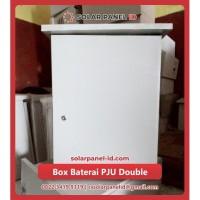 Box Baterai PJU Solarcell Double Aki