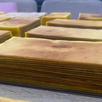 lapis legit setengh loyang/kue khas palembang
