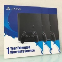 PS4 1 YEAR EXTENDED WARRANTY SERVICE VOUCHER