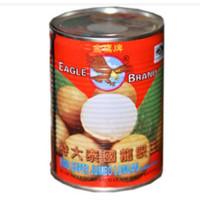 Buah kelengkeng kaleng Eagle Brand Longan in heavy syrup 565g
