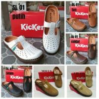 Sepatu sandal kickers wanita kode SL 01