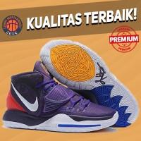 Sepatu Basket Sneakers Nike Kyrie 6 Grand Purple White Red Pria Wanita