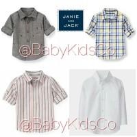 ORIGINAL Janie and Jack Shirt - kemeja anak bayi laki baby gap carters