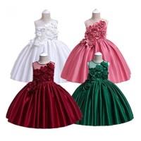Gaun Pesta Anak Perempuan Mewah / Baju Dress Anak Ultah Party Import