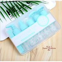 10 in 1 Travel Toiletries Kit (Traveling ga pake ribet)