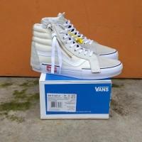 Sepatu Vans Sk8 HI Cut And Paste White Premium BNIB Quality