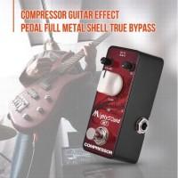 Compressor Efek Pedal Gitar M7 Bahan Full Metal Efek Gitar dan Bass