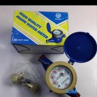 Meteran Air Body Besi PDAM Miami 1/2-3/4