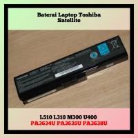 Baterai Laptop Toshiba Satellite L510 L310 M300 U400 Series