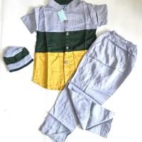 baju koko anak 1thn-2thn