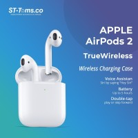 Apple AirPods 2 (2nd Gen) With Wireless Charging Case MRXJ2ID/A