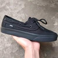 Sepatu Vans Zapato All Black BNIB Original Premium