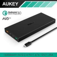 Unik Aukey Quick Charge Qualcomm 3 0 Powerbank PB T9 16000mAh B