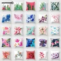 Bantal Pinggang Bentuk Bunga Kaktus untuk Dekorasi Sofa