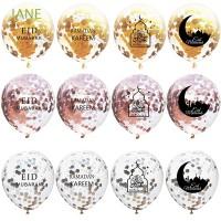 Jane 5Pcs Balon Confetti untuk Dekorasi Tahun Baru Imlek