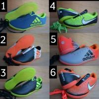 Sepatu futsal anak adidas dan nike murah kids size 33. 34 .35. 36. 37