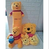 Paket Boneka Bantal Guling Winnie The Pooh Series Set SNI
