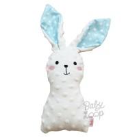 Polkadot Blue Bunny Minky Doll - BabyLoop - BabyLoop