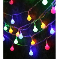 Lampu 10m LED Tumblr Hias Bulat / Lampu Natal anggur /Taman/Cafe