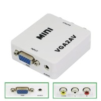 Converter VGA to AV RCA Mini