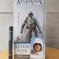 Neca assasin creed altair Mainan action figure Altair tinggi sekitar 7