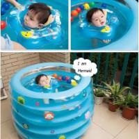 Kolam Renang Bayi Intime Baby Spa Bulat Round 5-Ring Inflatable Pool