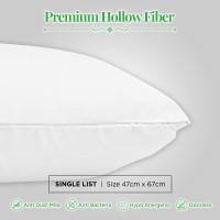 Bantal Premium Hollow Fiber Single List