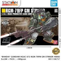 BANDAI 48082 HGUC 072 RGM-79FP GM STRIKER - GUNPLA MODEL KIT