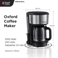 Russell Hobbs Oxford Coffee Maker - RH-20130-56
