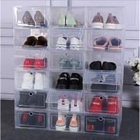 Kotak Sepatu Lipat / Box Sepatu Lipat / Kotak Sepatu Transparan Murah