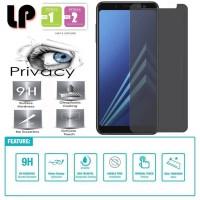 LP Anti-Spy Tempered Glass Samsung Galaxy A8 Plus (2018) - Privacy