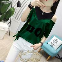 Blus Milada/ Baju Atasan/Baju Casual Cewek/Blus/Kaos/Baju korea