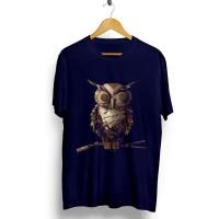 Kaos Baju Distro Grosir dan Ecer Keren Motif Burung Owl