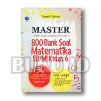 Buku Master 800 Bank Soal Matematika SD/MI Kelas 6