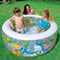 Kolam Renang Anak | Kolam Karet | Baby Spa AQUARIUM POOL 58480 - Intex