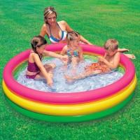 Kolam Renang Anak|Kolam Karet|Baby Spa SUNSET GLOW POOL 57422 - Intex