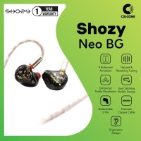 SHOZY & NEO BG 5BA HiFi In Ear Monitor Earphones Detachable Cable