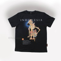 Kaos T-Shirt Wayang KRISNA .baju gambar kresno wayang kulit